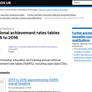 Investigation into DfE handling of apprenticeship figures demanded by expert
