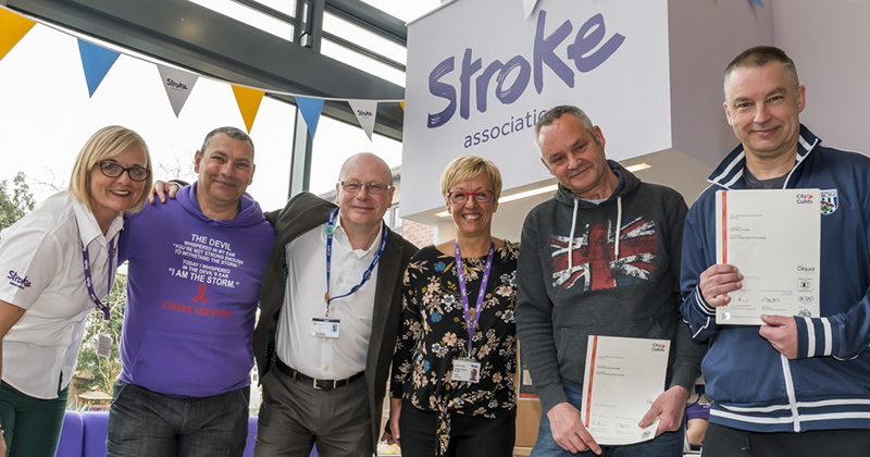 College offers certified employability course for stroke survivors
