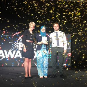 Iraqi refugee turned biomedical scientist crowned BTEC student of the year