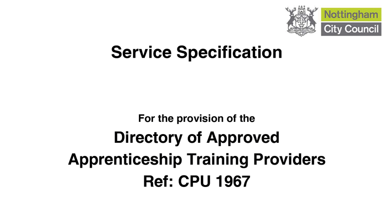 Local authority sets up rival apprenticeship provider register – but will charge