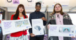 Five design students will have their work displayed on London's new Elizabeth line trains