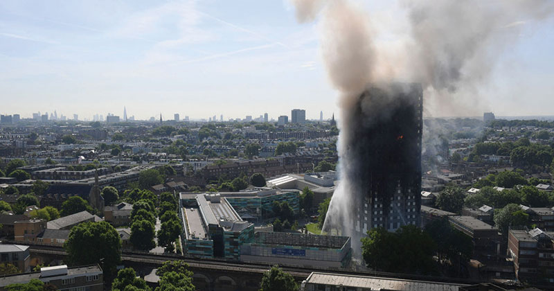Government announces fire safety and building regs review