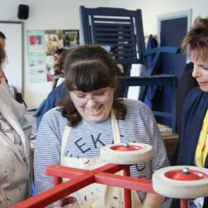 Milton visits first FE college since becoming minister