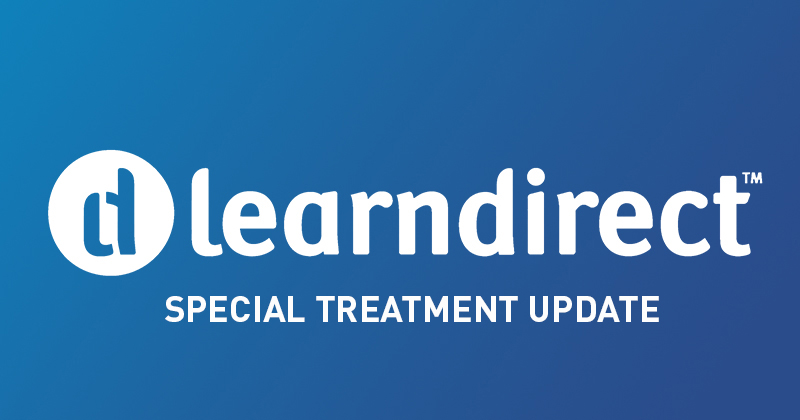 Learndirect special treatment: ESFA changes policy and awards £45m tender