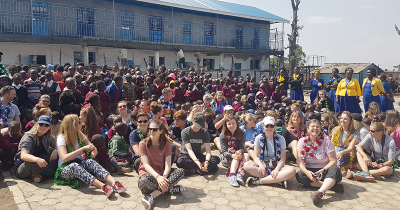 Chichester College raises over £82,000 to build a primary school in Kenyan slum