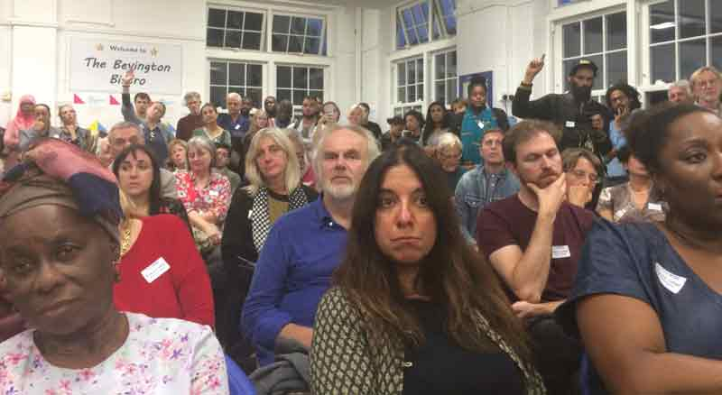 Grenfell community rage over college sell-off