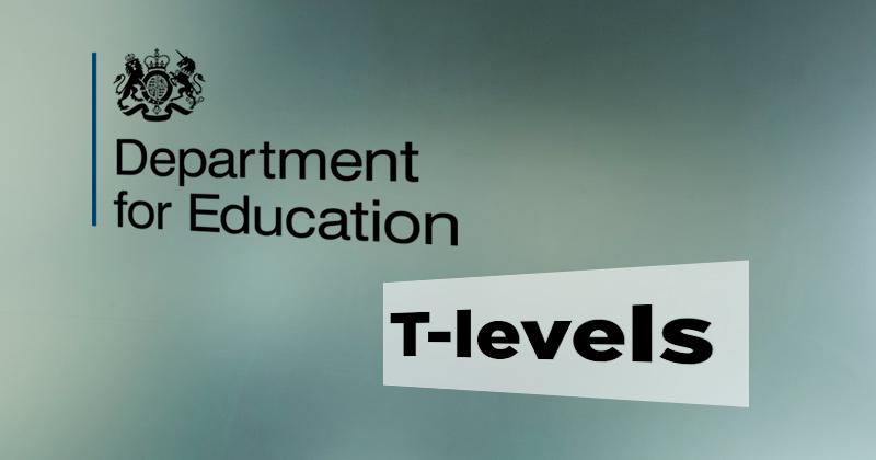 T-level placement pilot only includes one independent training provider