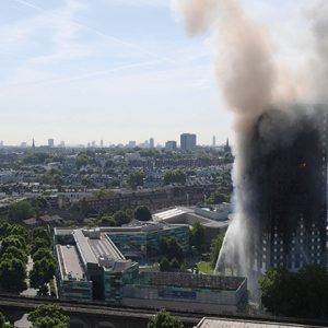 Grenfell fire survivor leads battle to save college campus