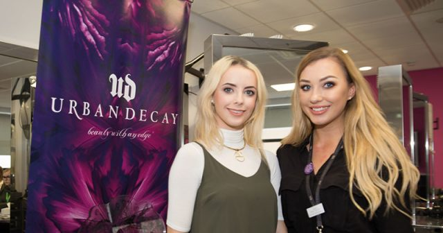 A successful makeup artist at Urban Decay shared her top tips for making it with North Lindsey College students