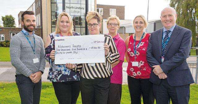 Health and social care team raise over £1500 for Alzheimer's charity