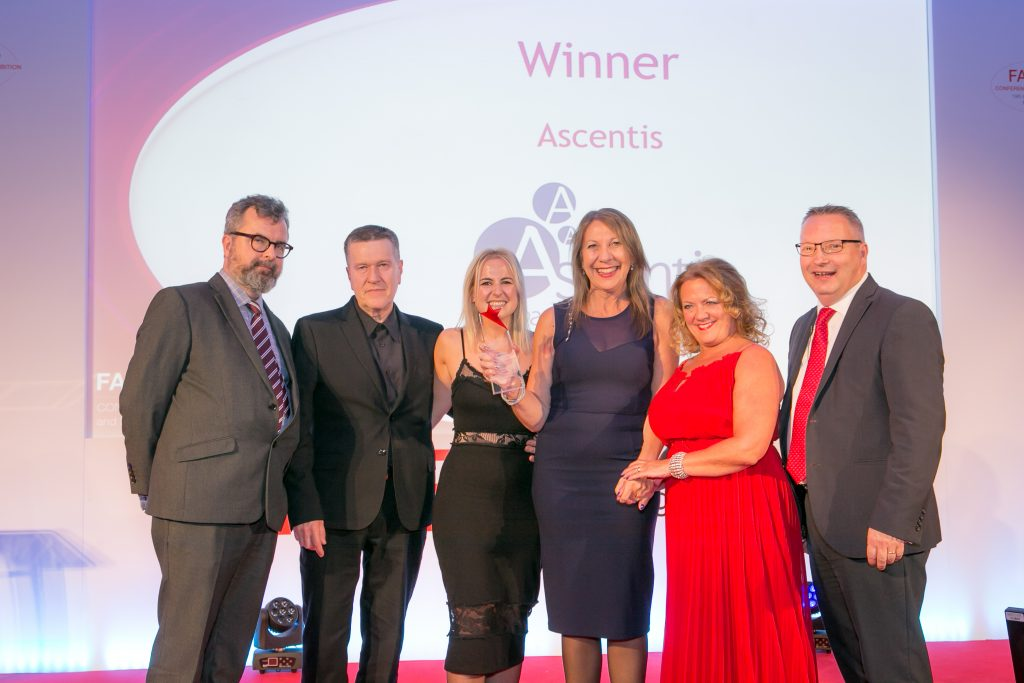 Ascentis named as awarding organisation of the year