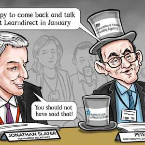 """Outgoing ESFA chief takes """"personal responsibility"""" for Learndirect decisions"""