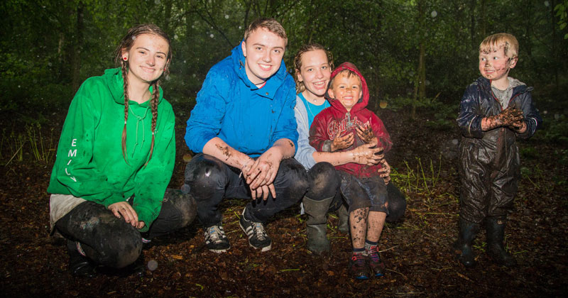 Blackburn College first to have forest school enrichment programme endorsed by CACHE