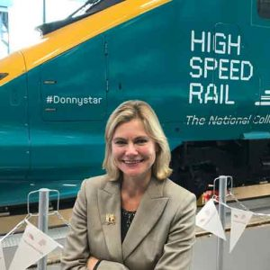 Greening opens National College for High Speed Rail