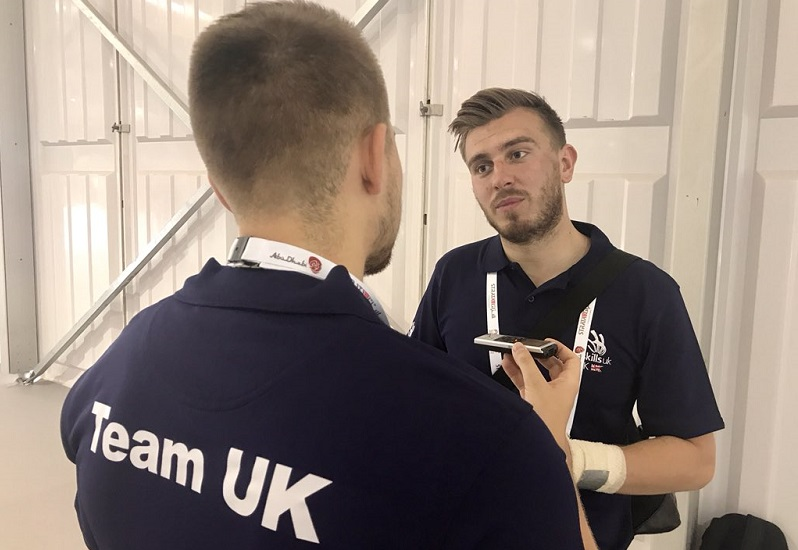 WorldSkills 2017: Josh attempts to repeat European success