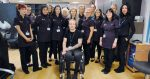 Hairdressing student fundraises for standing wheelchair to help him train