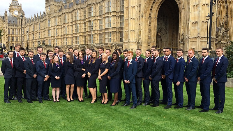 WorldSkills 2017: Team UK given send-off at Parliament