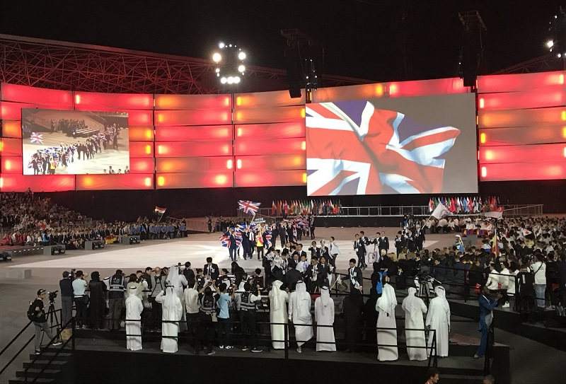 WorldSkills 2017: Spectacular opening ceremony marks the start of competitions