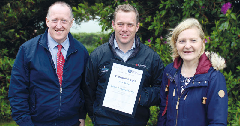 Farming initiative for the unemployed wins college national Feeding Britain's Future employer award