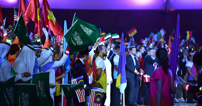 Worldskills 2017: Watch the closing ceremony live from Abu Dhabi