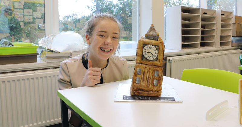 Annual geography-themed bake-off raises money for charity