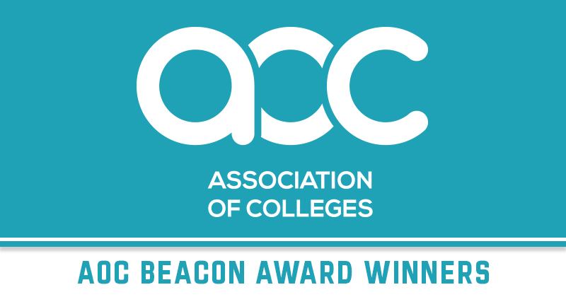 Weston College takes two gongs at the AoC Beacon Awards