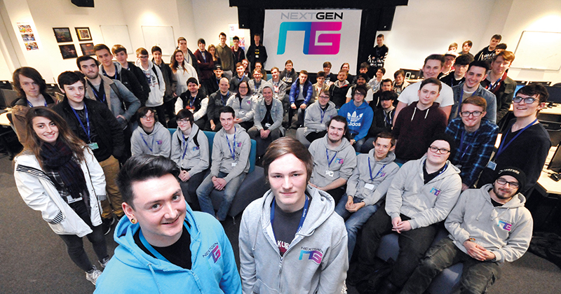 Sunderland College become second in the UK to partner with gaming giant