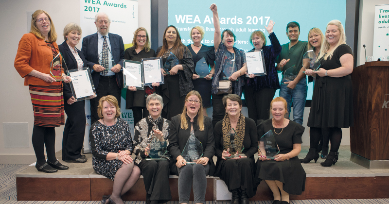 WEA Awards recognise achievement against the odds