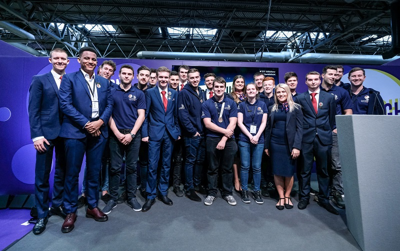 Skills Show 2017: Welcome home Team UK