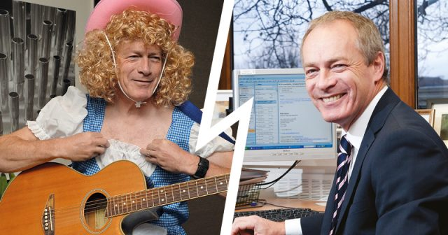 Principal finds viral fame with Dolly Parton cover for Justine Greening