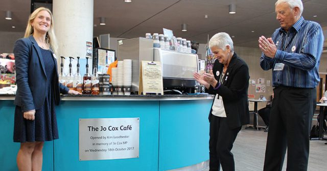 Bradford College café named in memory of murdered MP Jo Cox