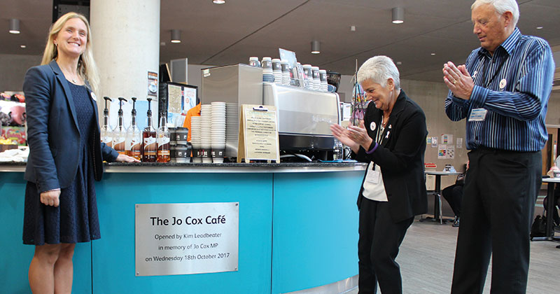 Bradford College café named in memory of murdered MP Jo Cox