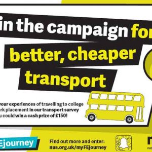 National Union of Students launches campaign to tackle 'problem' of poor FE transport
