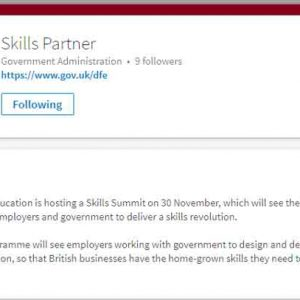 Summit to launch 'skills revolution' with employers