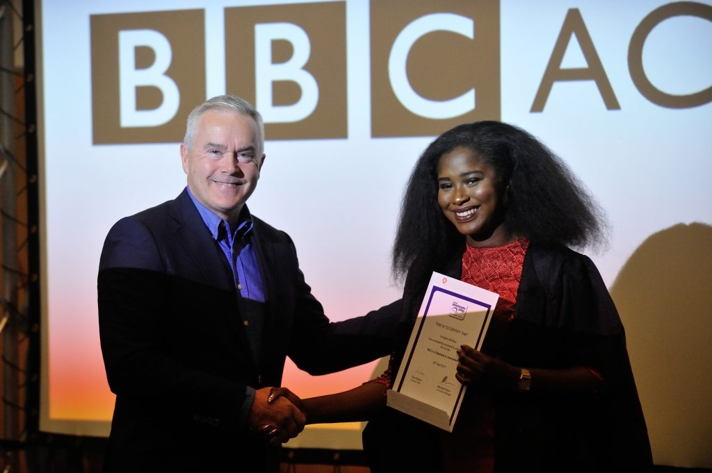 Apprentice becomes youngest ever person to report on BBC News at 10