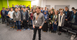 Brian Cox delivers talk on the origins of life at Stafford College