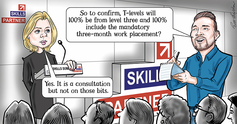 T-levels: DfE won't consult on 3-month work placements