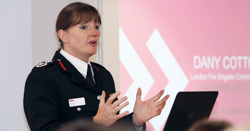 London's first-ever female fire commissioner tackles gender stereotypes