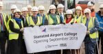 Construction underway on £11 million Stansted Airport College
