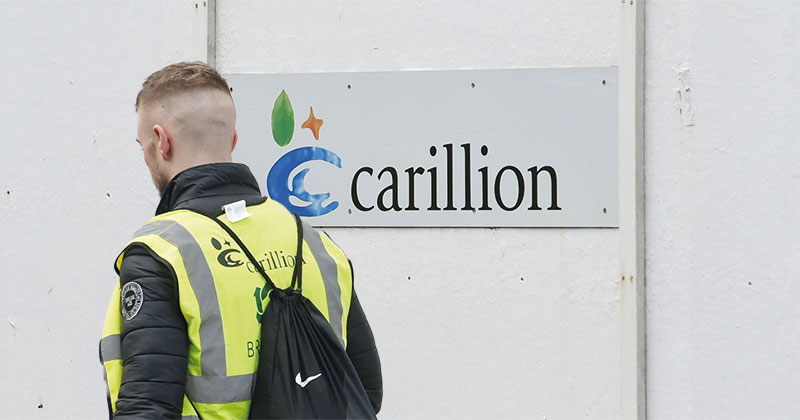Keeping Carillion apprentices gainfully employed cost the government £3m