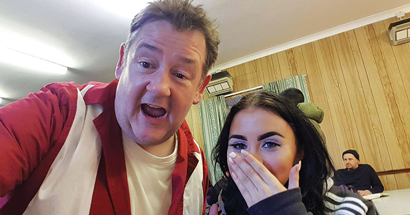 Middlebrough College Students Work On Tv Comedy
