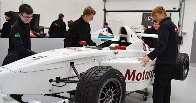 National College for Motorsport receives national recognition