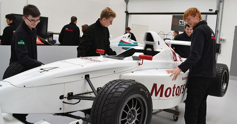 National College for Motorsport receives national recognition