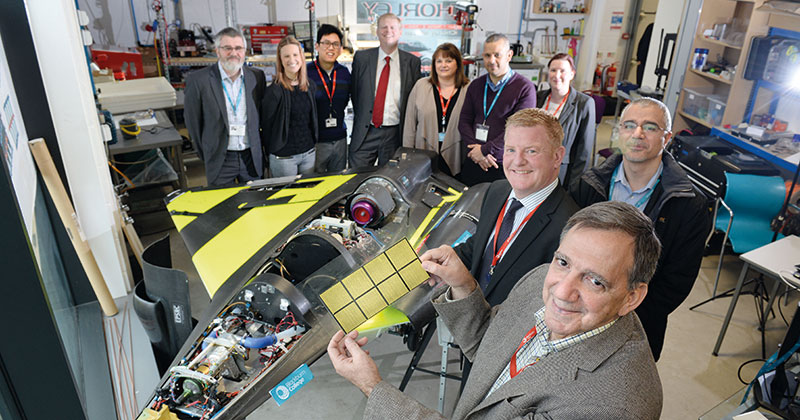 Blackburn College develops eco-friendly ways of fuelling aircraft