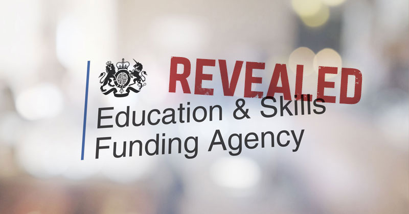 Ten colleges failed to secure apprenticeship funding for small employers, DfE reveals