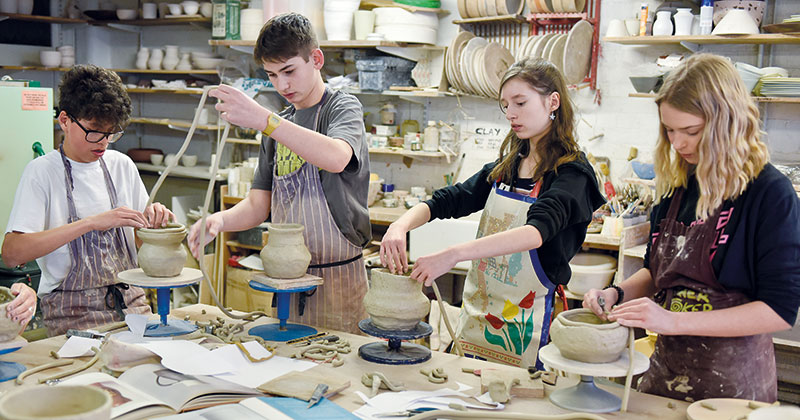 Sixteen UK colleges open on Saturday in creative arts initiative