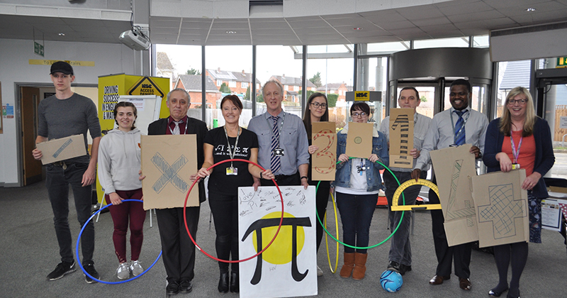 College hosts day of maths-themed activities for National Pi Day