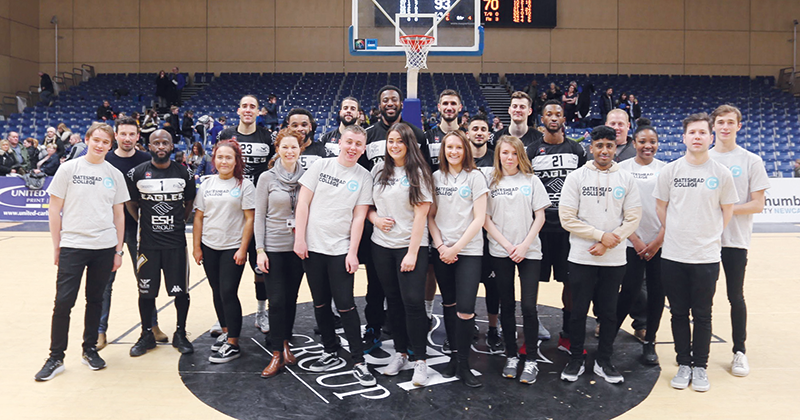 Championship basketball team provides work experience for business students