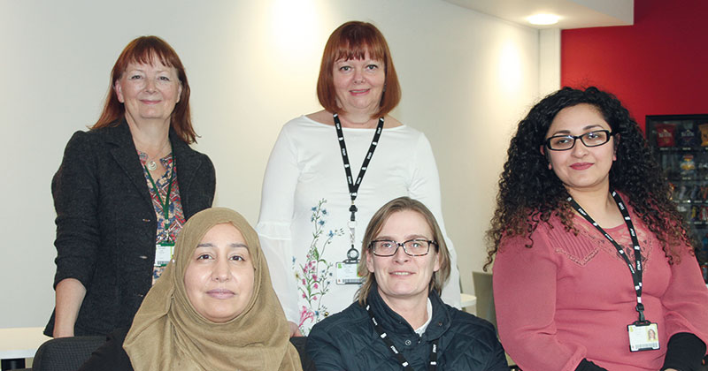 Female college staff host 'empowering women' event for students