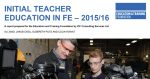 Quality of FE teacher training is 'high' but falling numbers are 'a challenge', research finds